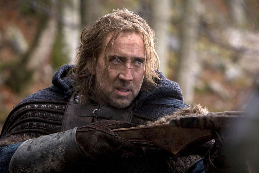 """<a href=""""http://movies.yahoo.com/movie/1810055815/info"""">SEASON OF THE WITCH</a> (2011)  This medieval supernatural thriller was savaged by critics as a queasy mix of art house pretension and grind house gore. It does, however, feature Nic Cage in chainmail and silly hair."""