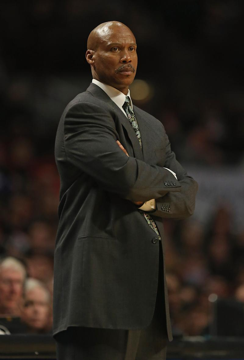 File photo of Byron Scott, who, reports say, has been offered the head coaching job at the Los Angeles Lakers, although the team has refused to comment on the issue