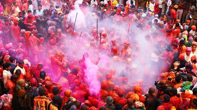 According to city president of INC, by first celebrating Diwali in Ayodhya and now planning on celebrating Holi in Mathura, the Chief Minister is sending clear signals that he only cares for the festivals of the Hindu community to which he belongs and the rest of the communities are beneath him.