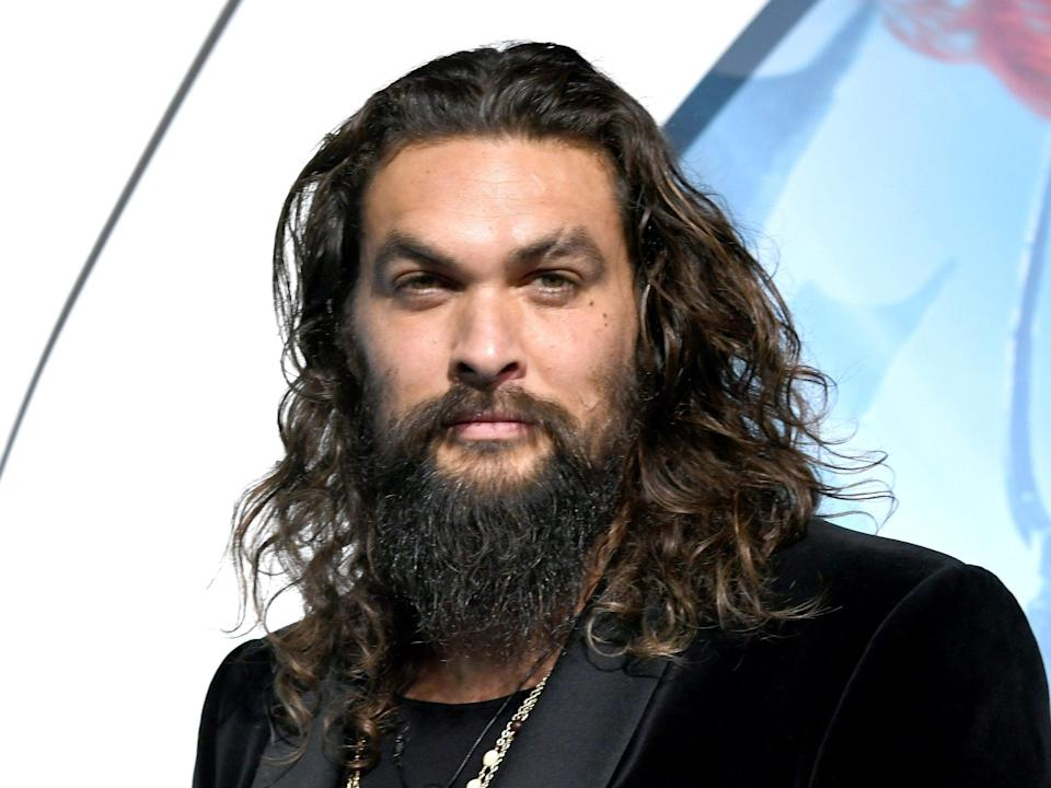 Jason Momoa was not happy with a question about 'Game of Thrones' (Getty Images)