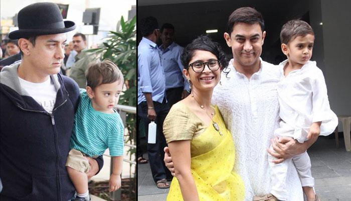 Celeb Kids, Aamir Khan and Kiran Rao