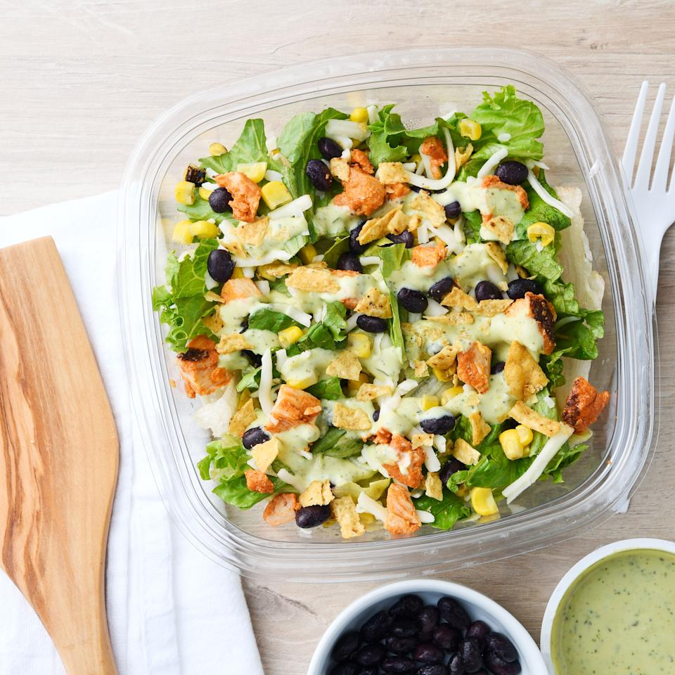 Prepared salads make lunches quick and easy. (Photo courtesy of Walmart)