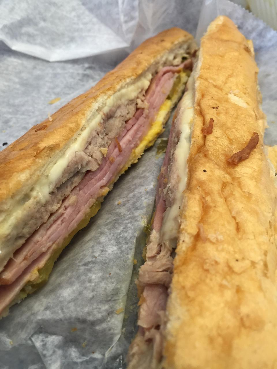 """<p>With 54 tips and reviews. Chris E, writes, """"Cubano sandwich is fantastic. Watch them slather it with butter and throw it on the plancha. Longest 5 minutes of your life."""" <a href=""""https://foursquare.com/v/las-olas-cafe/4a82e943f964a52083f91fe3"""" rel=""""nofollow noopener"""" target=""""_blank"""" data-ylk=""""slk:644 6th St."""" class=""""link rapid-noclick-resp"""">644 6th St.</a></p>"""