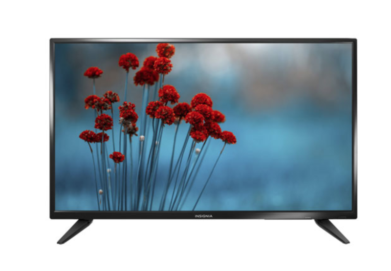 "Insignia 50"" 1080p HD LED TV. Image via Best Buy."