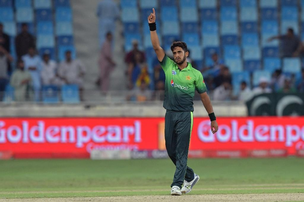 Pakistan's Hasan Ali is the leading wicket-taker in the ongoing series against Sri Lanka (AFP Photo/GIUSEPPE CACACE)