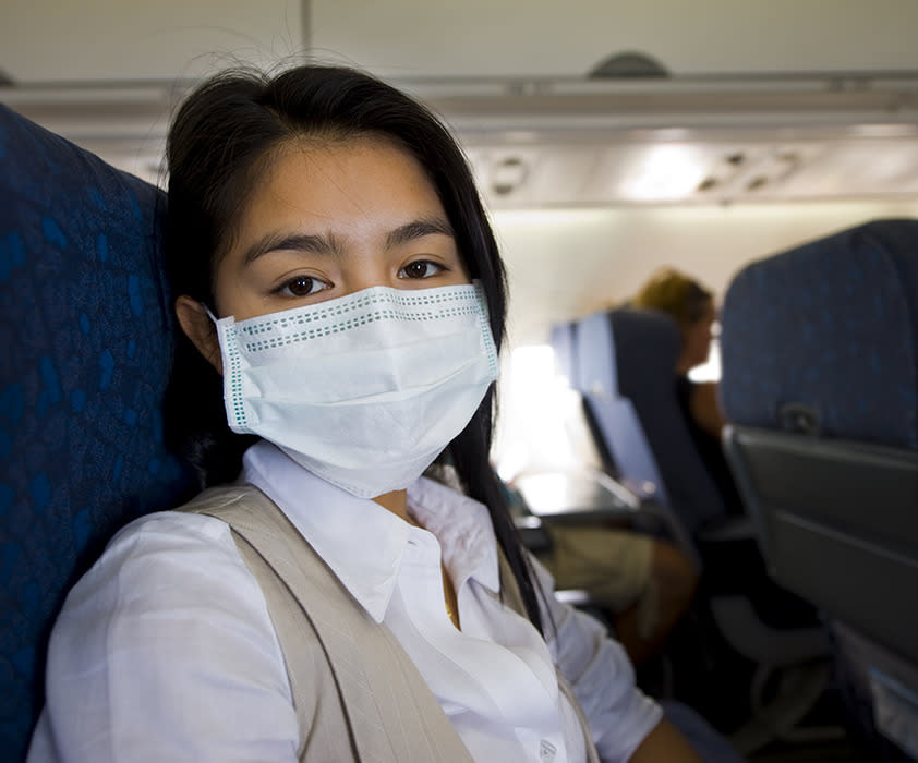 The gross truth about germs and airplanes