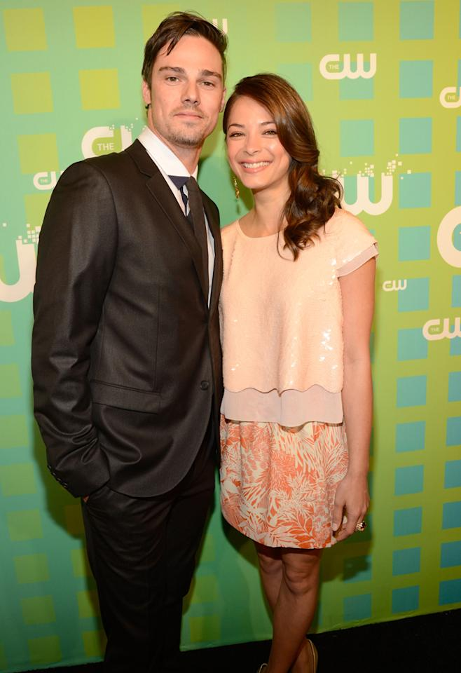 """Jay Ryan and Kristin Kreuk (""""Beauty and the Beast"""") attend The CW's 2012 Upfronts on May 17, 2012 in New York City."""