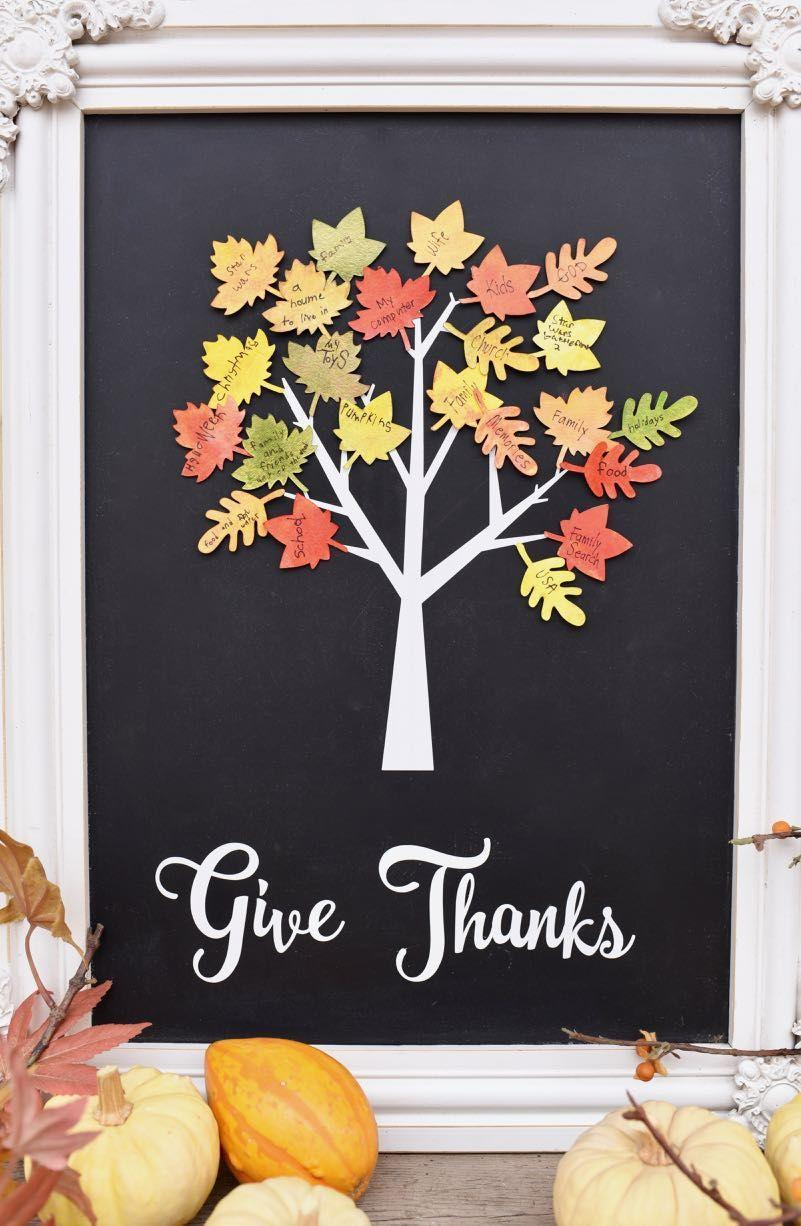 "<p>Instead of an actual ""tree,"" you can also opt for a chalkboard display that you can <a href=""https://www.goodhousekeeping.com/home/decorating-ideas/g33418751/fall-mantel-decor-ideas/"" rel=""nofollow noopener"" target=""_blank"" data-ylk=""slk:place on your mantel"" class=""link rapid-noclick-resp"">place on your mantel</a> without any hassle. Simply draw or cut out a tree on the chalkboard, then add some colorful fall leaves that you and your family can use to write down what you're thankful for this year. </p><p><em><a href=""https://www.makelifelovely.com/thankful-tree-craft-thanksgiving/"" rel=""nofollow noopener"" target=""_blank"" data-ylk=""slk:Get the tutorial at Make Life Lovely »"" class=""link rapid-noclick-resp"">Get the tutorial at Make Life Lovely »</a></em></p>"