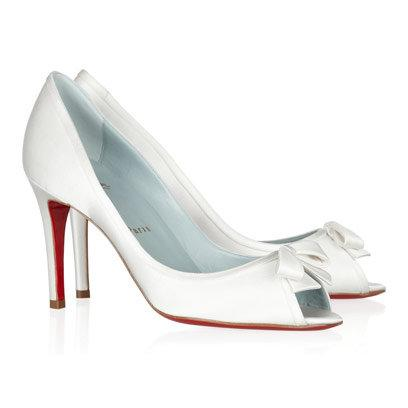 Milady 85 Satin-Covered Leather Pumps Christian Louboutin: What to Wear: Wedding