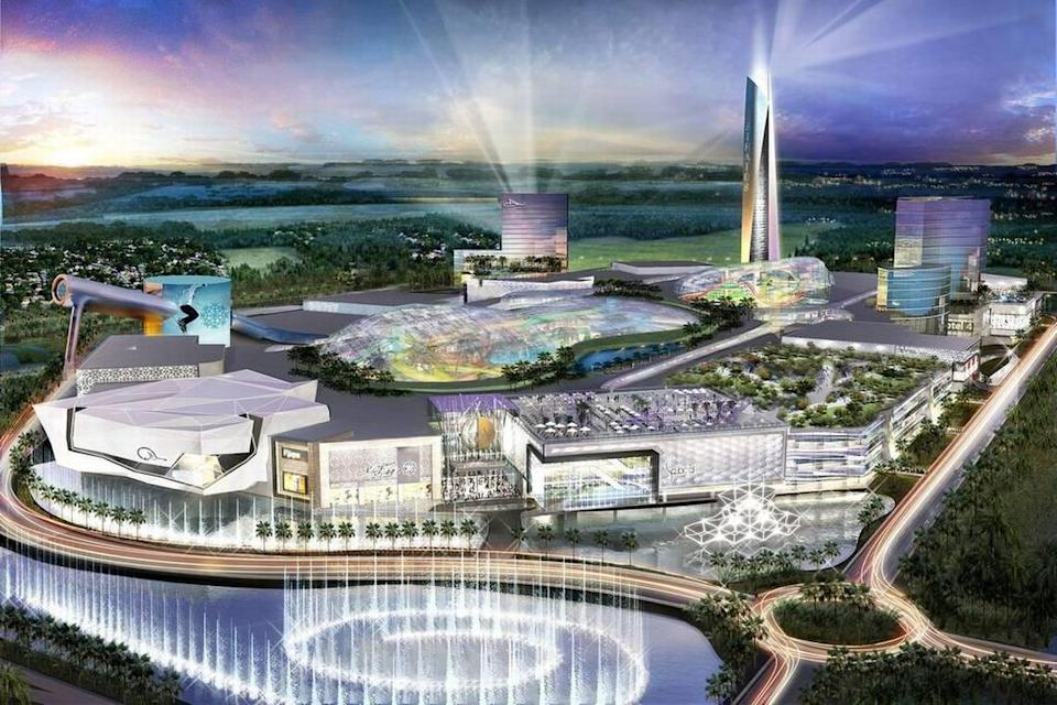 The American Dream Miami mega-mall received the initial go-ahead from Miami-Dade commissioners in May 2018. Now the county is awaiting a more detailed proposal for permits.