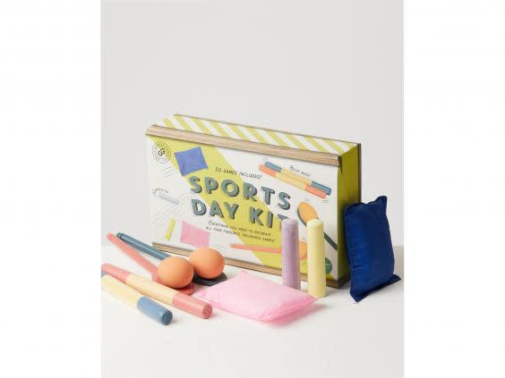 Recreate a school sports day with this retro kit (Oliver Bonas)