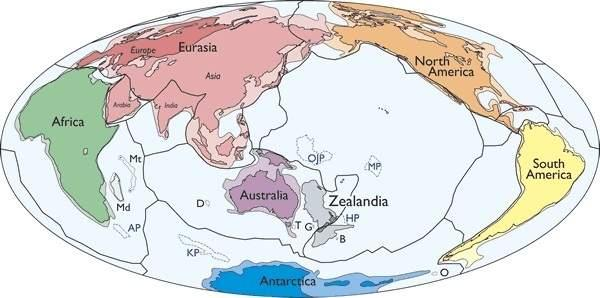 Zealandia Might Be The World's Smallest Continent, Not Austrailia