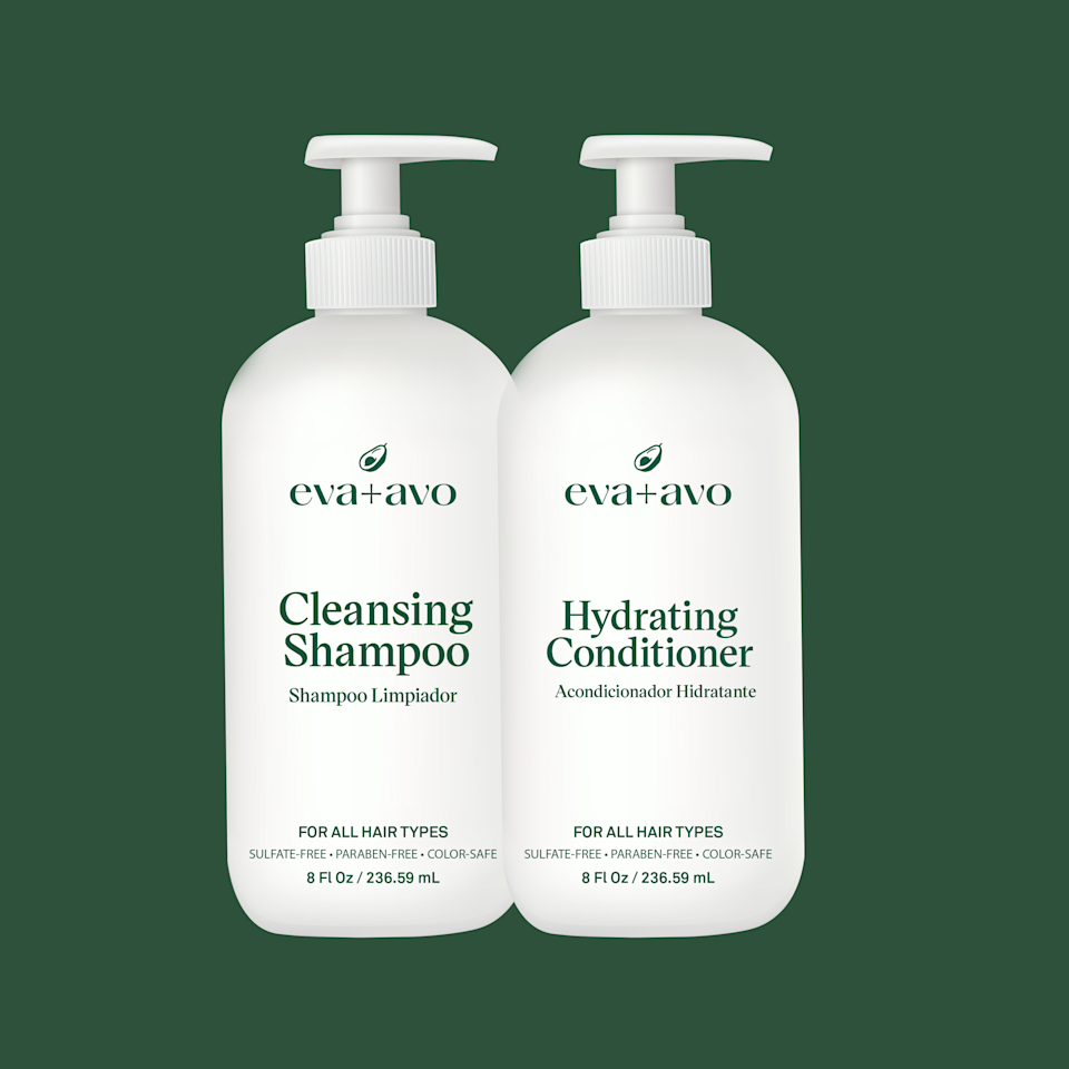 "<p><strong>Eva+Avo</strong></p><p>evaavo.com</p><p><strong>$19.99</strong></p><p><a href=""https://www.evaavo.com/products/shampoo-conditioner-8-oz-duo?variant=37498626801832"" rel=""nofollow noopener"" target=""_blank"" data-ylk=""slk:Shop Now"" class=""link rapid-noclick-resp"">Shop Now</a></p><p>Mexican-American telenovela actress <a href=""https://www.instagram.com/anabreco/"" rel=""nofollow noopener"" target=""_blank"" data-ylk=""slk:Ana Brenda Contreras"" class=""link rapid-noclick-resp"">Ana Brenda Contreras</a> is cofounder of the eco-friendly haircare brand, which touts its use of natural ingredients. The Purifying Shampoo and Hydrating Conditioner are <strong>made with avocado oil, wild rosemary, and castor seed oil</strong>. What's more, this duo is the perfect size for carry-on luggage, so you can keep up with your haircare routine wherever you go.</p>"