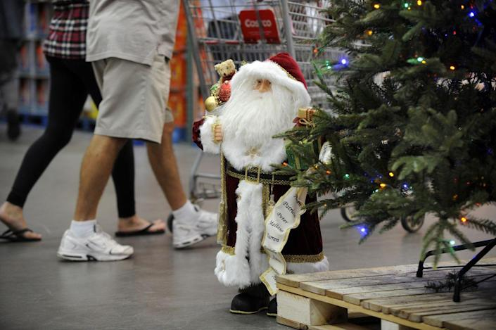 <p>While you may not be in the Christmas spirit in September, Costco will often start displaying last year's holiday items early to free up storage space. Clear a spot in your closet and bring on the baubles.</p>