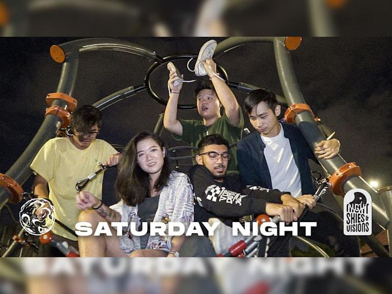 """""""Saturday Night"""" is the latest single from Night Skies & Visions."""