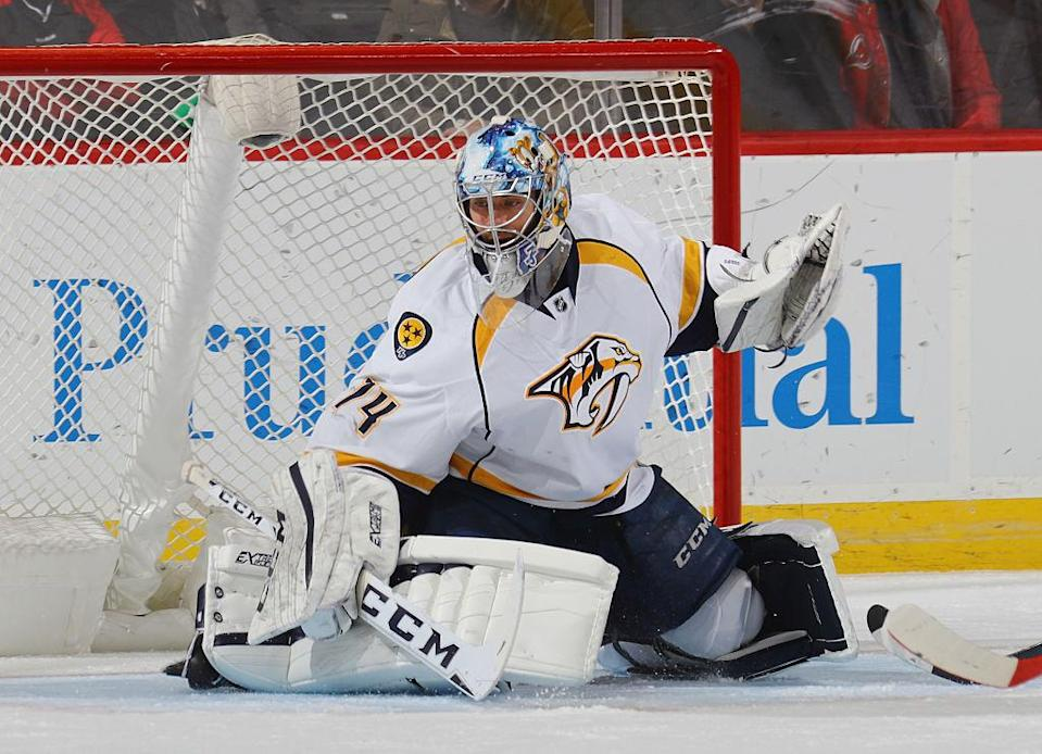 Jusse Saros is one of the NHL's most under-appreciated backstops. (Getty Images)