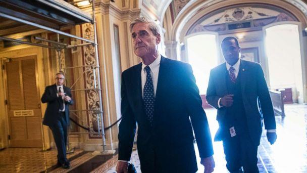 PHOTO: In this Wednesday, June 21, 2017 file photo, Special Counsel Robert Mueller departs the Capitol after a closed-door meeting with members of the Senate Judiciary Committee. (J. Scott Applewhite/AP Photo)
