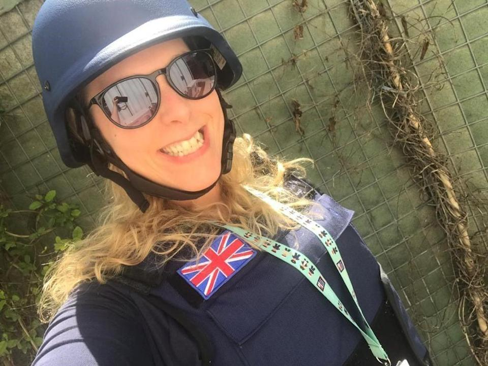 Gemma Paolucci in Afghanistan  (Foreign Office)