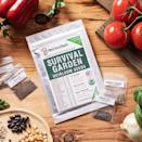 <p><span>Open Seed Survival Garden 32 Variety Pack</span> ($50, originally $60) contains around 15,000 non-GMO heirloom vegetable and fruit seeds so you can grow the ultimate garden right in your backyard. You can plant watermelon, eggplant, bell peppers, tomatoes, and so many more. </p>