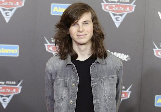 Chandler Riggs (Photo: Willy Sanjuan/Invision/AP)