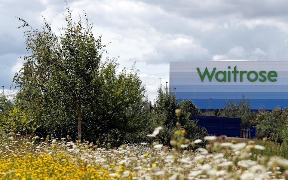 Waitrose is expanding its home delivery service - Matthew Childs/Reuters