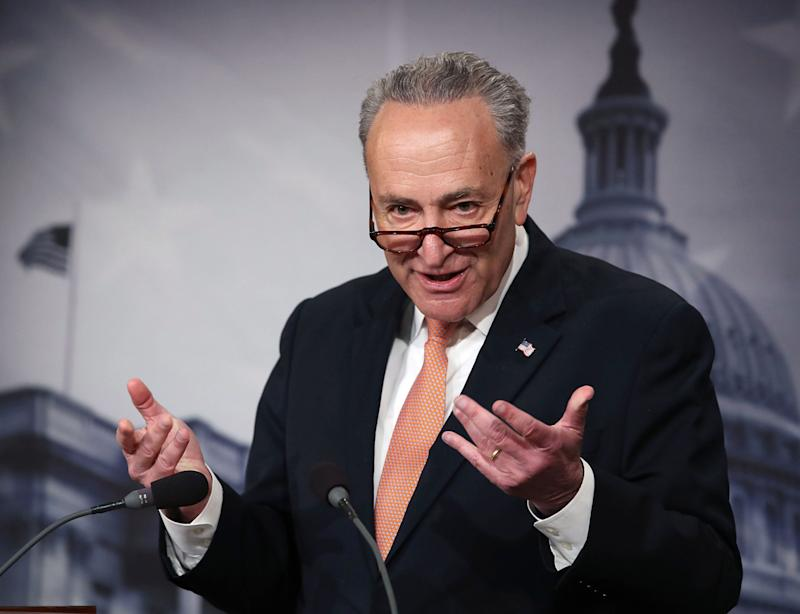 Chuck Schumer Puts Final Nail in Spotify-Playlist-Meme Coffin