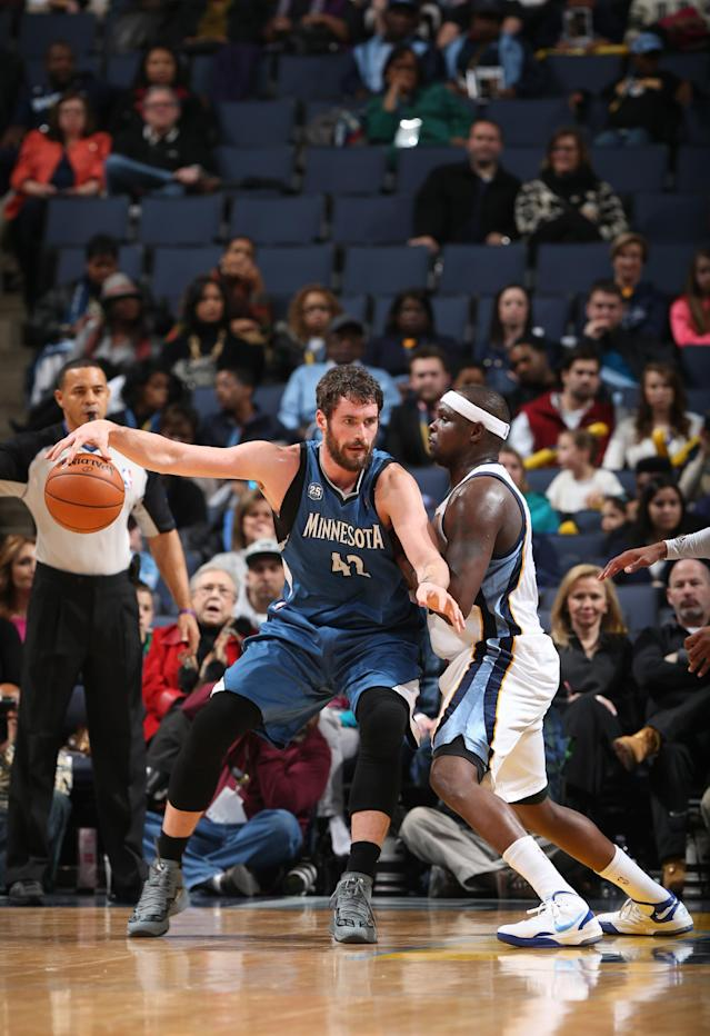 Love has 30 to lift 'Wolves past Grizzlies 101-93
