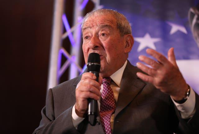 Bob Arum, pictured, is Tyson Fury's co-promoter (Isabel Infantes/PA)