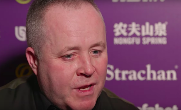 John Higgins is a two-time Masters champion
