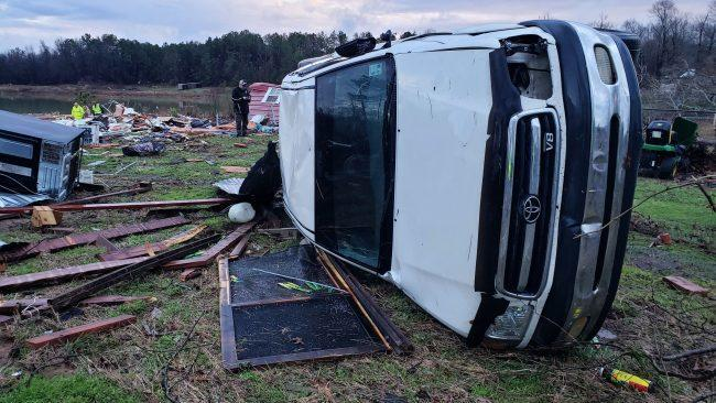 LIVE: Power outages increase across South as battered communities survey damage from deadly storms