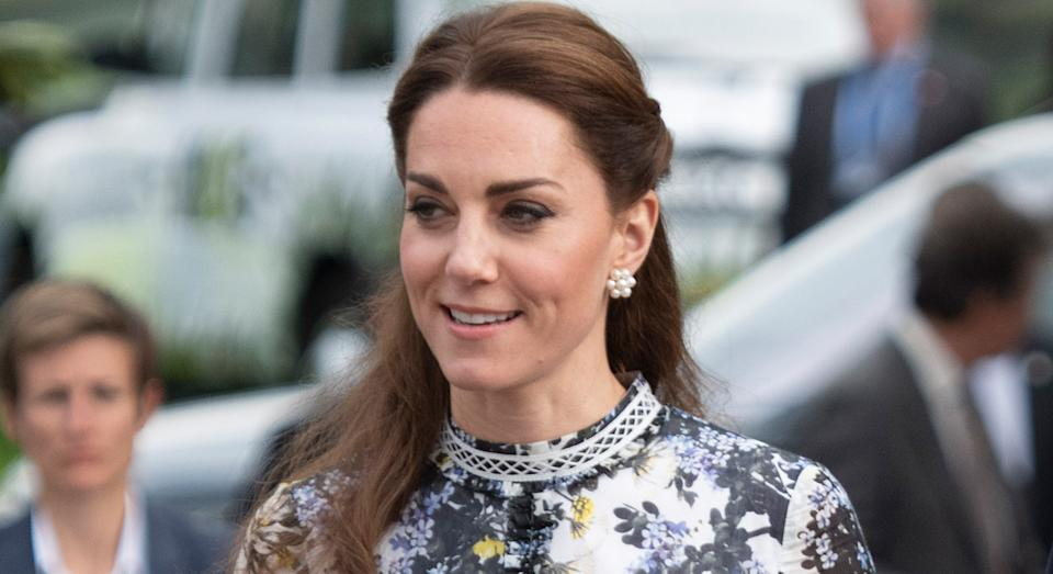 We have found an affordable alternative to the Duchess of Cambridge's trusted Castañer wedges she has worn to numerous royal engagements.  (Getty Images)