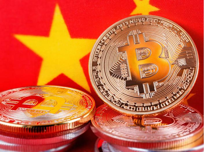 Bitcoin miners in China have been blamed for the cryptocurrency's environmental impact (Getty Images)