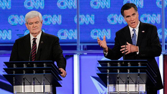 Analysis: Mitt Romney Wins Florida Debate, Newt Gingrich Looks Rattled And Uneven