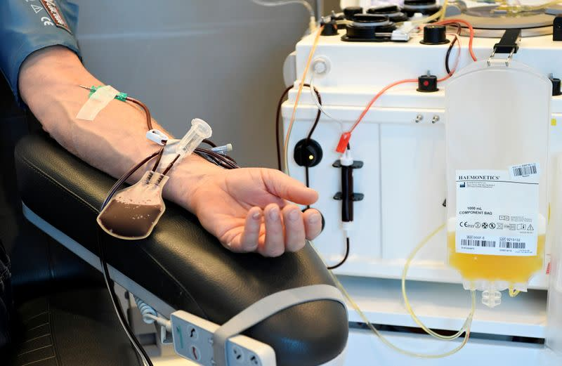 EU readies up to $53 million to boost collection of plasma to fight COVID-19