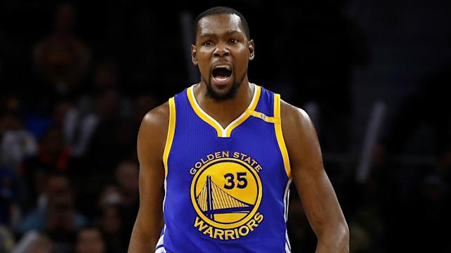 NBA All-Star Kevin Durant has no regrets about his decision to sign with the Golden State Warriors.