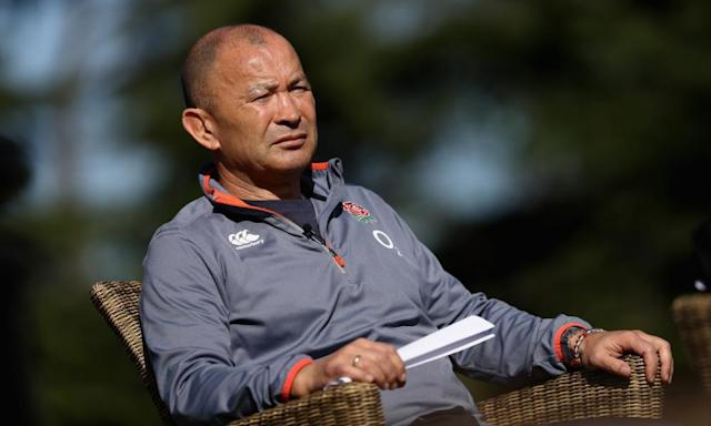 """<span class=""""element-image__caption"""">Eddie Jones, the England head coach, has told his players during training at Pennyhill Park that the squad needs more 'density' if it is to win the World Cup.</span> <span class=""""element-image__credit"""">Photograph: David Rogers/Getty Images</span>"""