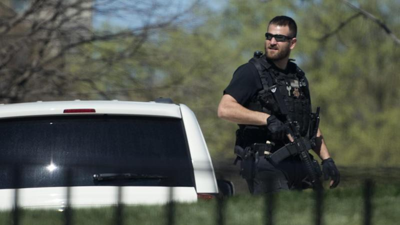 A shooter has been taken into custody after allegedly shooting a gun in the US Capitol complex.