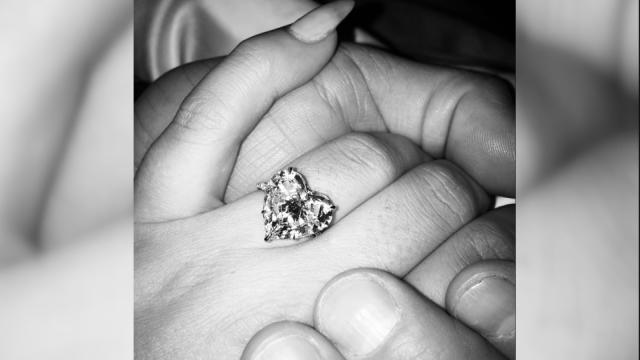 Blinged-Out Celeb Engagement Rings by the Numbers
