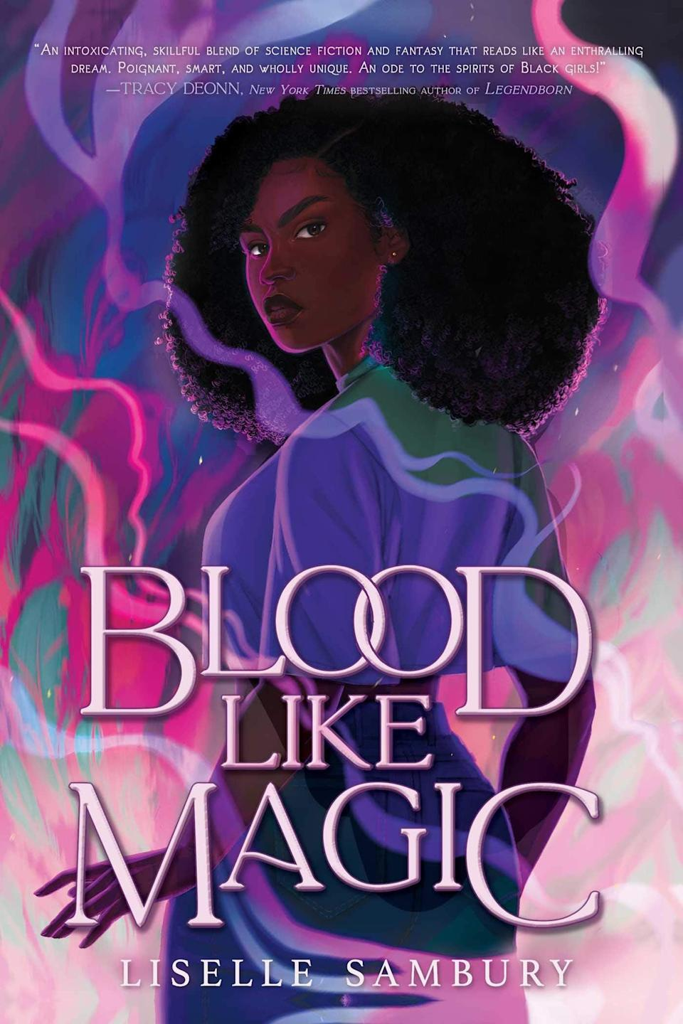 <p>In <span><strong>Blood Like Magic</strong></span> by Liselle Sambury, a modern day witch must make the ultimate sacrifice in order to protect her family's magical bloodline. Voya Thomas only has one more shot of receiving her powers and protecting her family from losing theirs - she has to sacrifice her first love. There's just one problem: Voya has never been in love before. </p> <p><em>Out June 15</em></p>