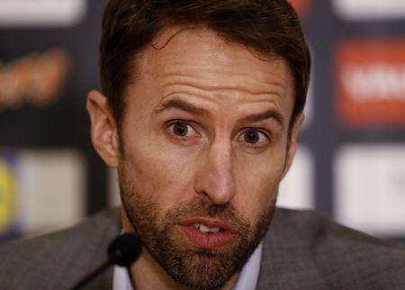 Britain Football Soccer - England - Gareth Southgate Press Conference - St George's Park - 16/3/17 England manager Gareth Southgate during the press conference Action Images via Reuters / Carl Recine Livepic EDITORIAL USE ONLY.
