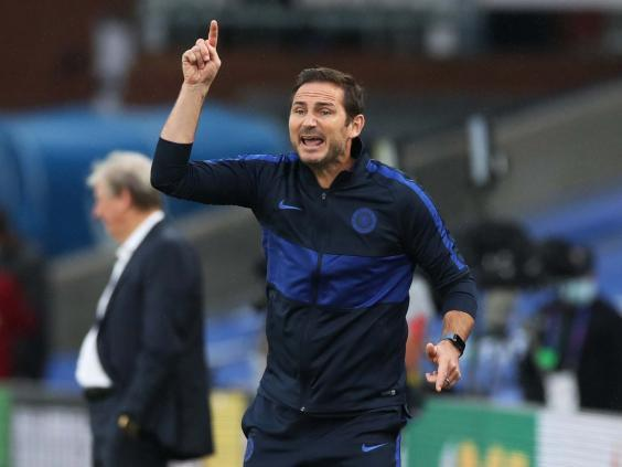Frank Lampard has challenged Chelsea to seal a top four finish to prevent any Champions League disappointment (Reuters)