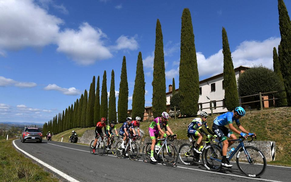 Strade Bianche 2021, live race updates - GETTY IMAGES