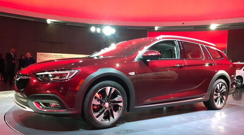 General Motors Co unveiled a new Buick model called the TourX aimed at Volvo and Subaru's wagons in the United States market in Detroit