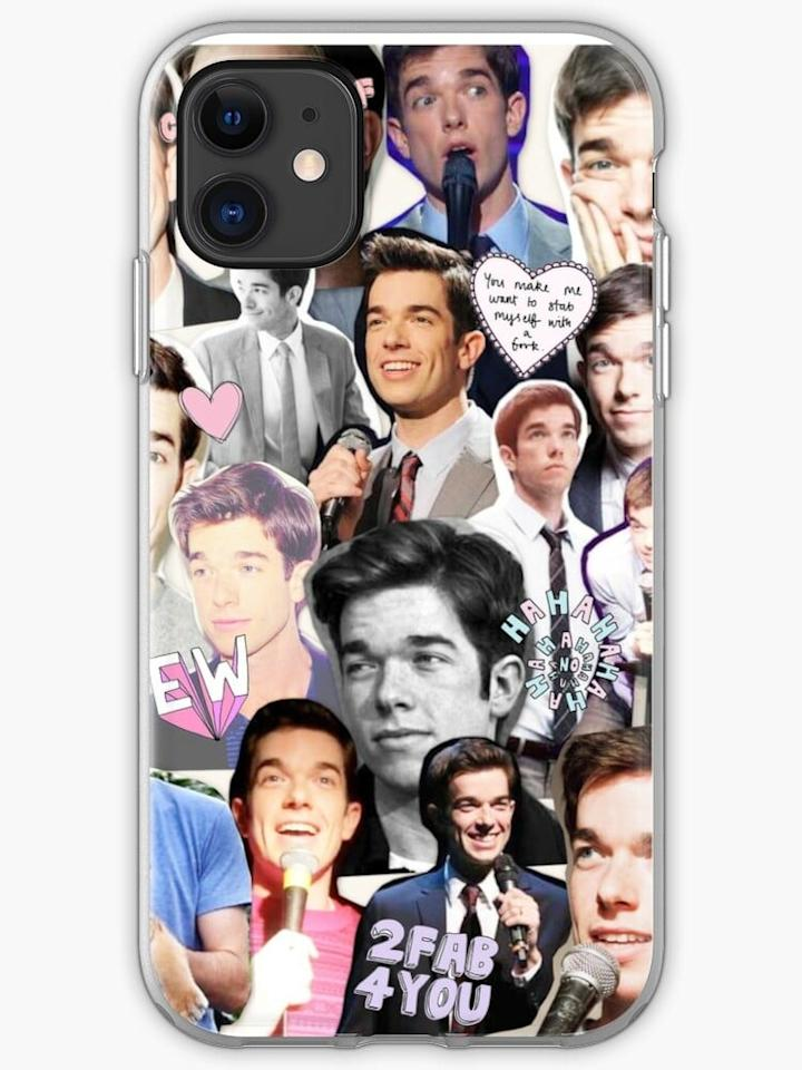 """<p>This <a href=""""https://www.popsugar.com/buy/Collage-Phone-Case-509125?p_name=Collage%20Phone%20Case&retailer=redbubble.com&pid=509125&price=19&evar1=pop%3Auk&evar9=46829575&evar98=https%3A%2F%2Fwww.popsugar.com%2Fcelebrity%2Fphoto-gallery%2F46829575%2Fimage%2F46829947%2FCollage-Phone-Case&list1=gifts%2Chumor%2Cgift%20guide%2Cjohn%20mulaney%2Centertainment%20gifts&prop13=api&pdata=1"""" rel=""""nofollow"""" data-shoppable-link=""""1"""" target=""""_blank"""" class=""""ga-track"""" data-ga-category=""""Related"""" data-ga-label=""""https://www.redbubble.com/shop/p/21692604.PM7U2.iphone-cases?grid_pos=165&amp;rbs=725be978-3811-4368-afbe-3824655bcec1&amp;ref=shop_grid&amp;searchTerm=john%20mulaney"""" data-ga-action=""""In-Line Links"""">Collage Phone Case</a> ($19) is the perfect gift for someone who simply wants to show off their love for the comedian.</p>"""