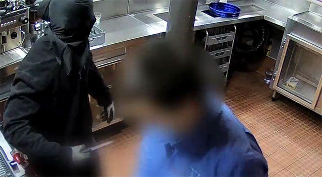 The man used a kitchen knife to threaten the manager of the Burns Club. Photo: ACT Policing