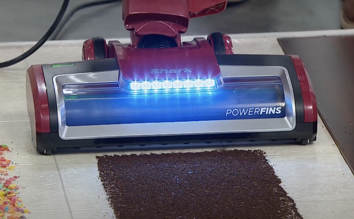 When it comes to getting carpets pristine clean, it helps to have high beams in low places. (Photo: HSN)