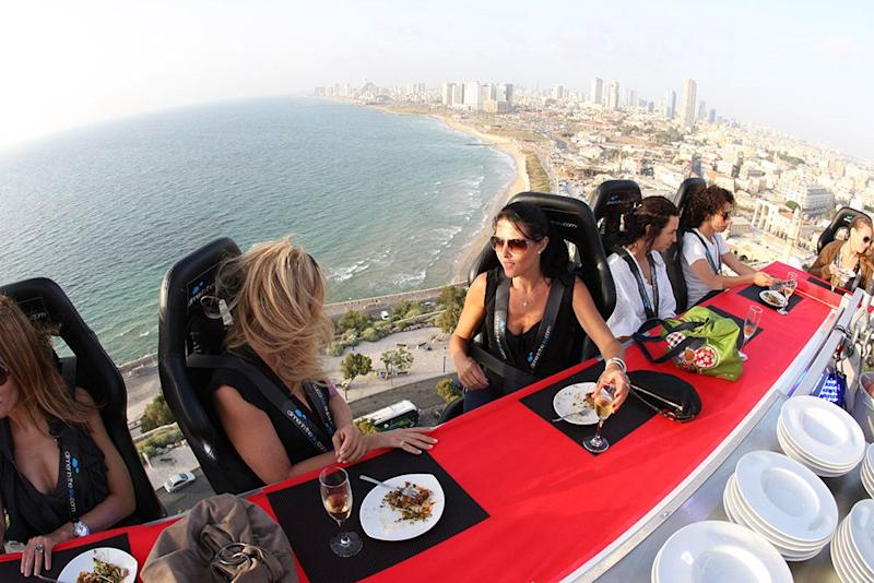Photo credit: Dinner in the sky