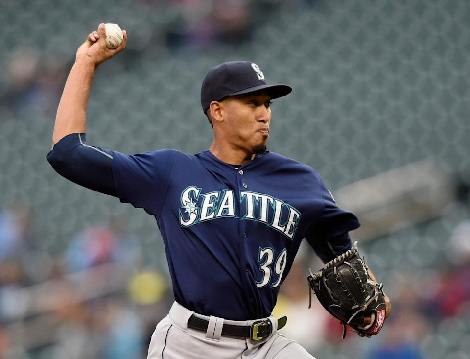 Edwin Diaz has a lot of upside for anyone looking for a closer to target. (Photo by Hannah Foslien/Getty Images)