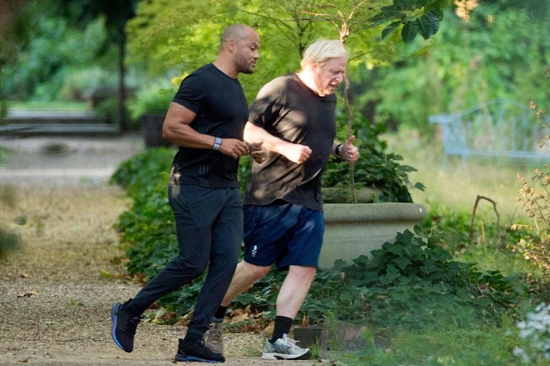 The PM has blamed being overweight for the severity of his illness when he was struck down by the coronavirus (Jeremy Selwyn)
