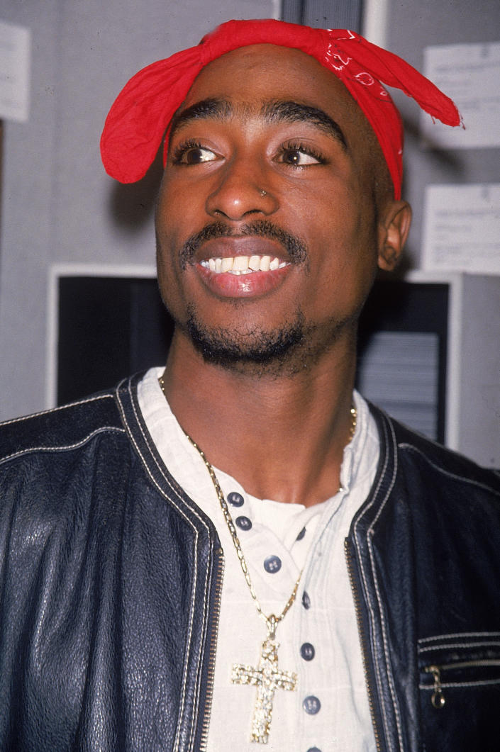 Rap artist Tupac Shakur. (Photo by Time Life Pictures/DMI/The LIFE Picture Collection via Getty Images)
